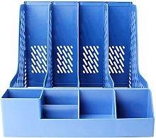 luosh Desk File Organiser,4 Sections Magazine