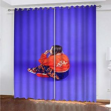 LUOWAN Curtains For Bedroom Blackout 39X62Inch