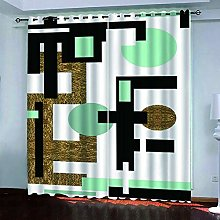 LUOWAN Curtains For Bedroom Blackout 54.6X113Inch