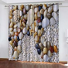 LUOWAN Curtains For Bedroom Eyelet 22.8X54Inch
