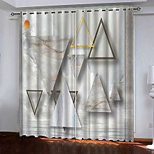 LUOWAN Curtains For Blackout 22.8X54Inch Drop