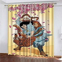 LUOWAN Curtains For Blackout 45.6X71Inch Drop