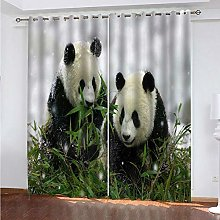 LUOWAN Curtains For Blackout 51.5X94Inch Drop