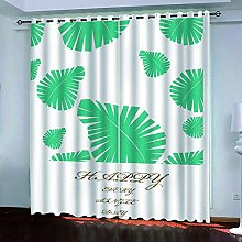 LUOWAN Curtains For Girls Bedroom 39X83Inch Drop