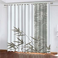 LUOWAN Curtains For Kitchens 22.8X54Inch Drop