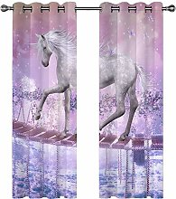 LUOWAN Curtains For Living Room 39X83Inch Drop