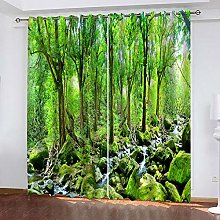 LUOWAN Curtains For Living Room Eyelet