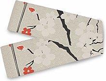 LUPINZ Japanese Umbrella And Cherry Sakura Table