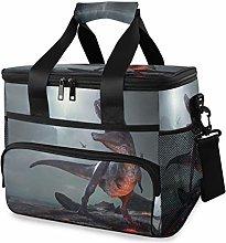 LUPINZ Tote Cooler Bag Cool Animal Dinosaur