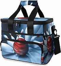 LUPINZ Tote Cooler Bag Cool Bowling Sport Picnic