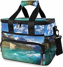 LUPINZ Tote Cooler Bag Cool Canadian Emerald Lake