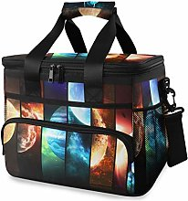 LUPINZ Tote Cooler Bag Cool Cosmic Planet Picnic