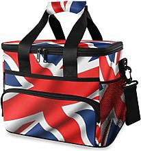 LUPINZ Tote Cooler Bag Cool England Flag Picnic