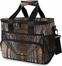 LUPINZ Tote Cooler Bag Cool Library Picnic Lunch
