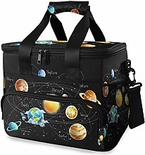 LUPINZ Tote Cooler Bag Cool Planets in Universe