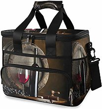 LUPINZ Tote Cooler Bag Cool Red Wine Picnic Lunch