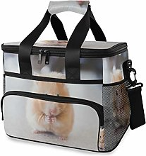 LUPINZ Tote Cooler Bag Cute Yellow Mouse Picnic