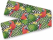 LUPINZ Tropical Foliage Bird Green Parrot Table
