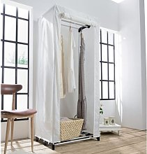 Lupo 75cm Wide Portable Wardrobe Rebrilliant