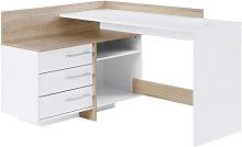 Luray Corner Executive Desk Brayden Studio