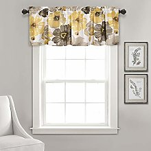 Lush Decor Leah Room Darkening Window Curtain
