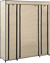 Lusher 150cm Wide Portable Wardrobe Rebrilliant