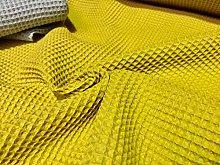 LUSHFABRIC Cotton WAFFLE Pique Honeycombe Fabric