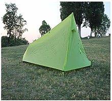 Lushi Outdoor single ultralight aluminum pole tent