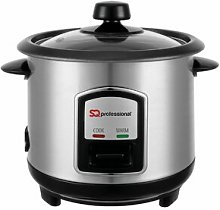 Lustro 0.8L Stainless Steel Rice Cooker SQ