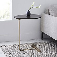 LUWOFU Bed side table outdoor coffee table iron