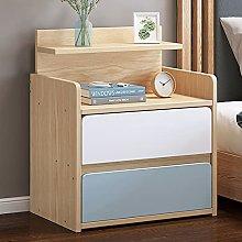 LUWOFU Small bedside table sofa side table wooden