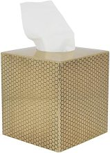 Luxe - Antique Gold Honeycomb Tissue Box