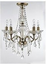 Luxe Collection Alessandra Flush 5-Light Chandelier