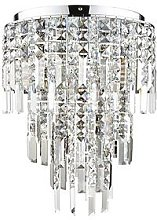 Luxe Collection Filini Square-Cut 3-Tier Crystal