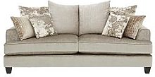 Luxe Collection - Opal 3-Seater Fabric Sofa