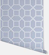 Luxe Origin Soft Blue Wallpaper 295601 - Arthouse