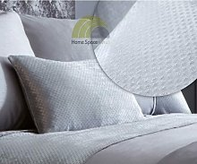 Luxe Silver Cushion Bed Sofa Accessory Filled