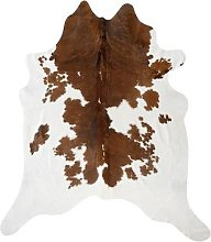 Luxe - Spotted Cowhide Rug - Brown/White
