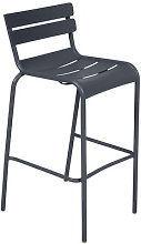 Luxembourg Bar chair - H 80 cm - Metal by Fermob