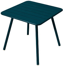 Luxembourg Square table - / 80 x 80 cm - 4 legs by