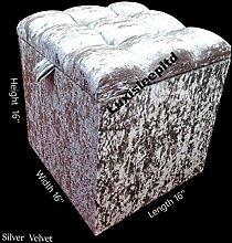 luxisleepltd' Crushed Velvet Diamonds/Fabric