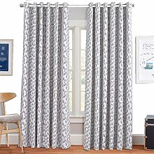 Luxurious Curtain Pair Fully Lined Heavy Jacquard