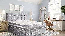 Luxurious Mattress Bed in Silver - Lightweight and