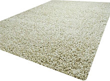 Luxurious shaggy rug - 120X170 - Cream