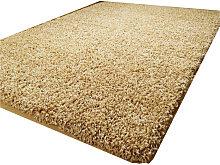 Luxurious shaggy rug - 120X170 - Light Brown
