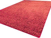 Luxurious shaggy rug - 160X230 - Red