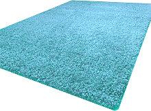 Luxurious shaggy rug - 160X230 - Teal