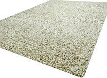 Luxurious shaggy rug - 60X110 - Cream
