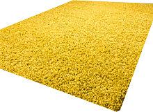 Luxurious shaggy rug - 80X150 - Gold
