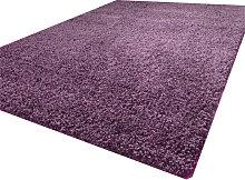 Luxurious shaggy rug - 80X150 - Purple